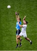 9 June 2019; Darren Gavin of Dublin in action against Fergal Conway of Kildare during the Leinster GAA Football Senior Championship semi-final match between Dublin and Kildare at Croke Park in Dublin. Photo by Stephen McCarthy/Sportsfile