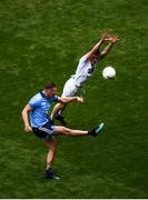 9 June 2019; Ciarán Kilkenny of Dublin in action against David Hyland of Kildare during the Leinster GAA Football Senior Championship semi-final match between Dublin and Kildare at Croke Park in Dublin. Photo by Stephen McCarthy/Sportsfile