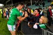 9 June 2019; Seán Finn of Limerick with his brother Brian after the Munster GAA Hurling Senior Championship Round 4 match between Limerick and Clare at the LIT Gaelic Grounds in Limerick. Photo by Diarmuid Greene/Sportsfile