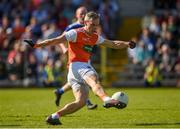 9 June 2019; Mark Shields of Armagh during the Ulster GAA Football Senior Championship Semi-Final Replay match between Cavan and Armagh at St Tiarnach's Park in Clones, Monaghan. Photo by Philip Fitzpatrick/Sportsfile