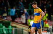 9 June 2019; Conor Cleary of Clare leaves the field after the Munster GAA Hurling Senior Championship Round 4 match between Limerick and Clare at the LIT Gaelic Grounds in Limerick. Photo by Diarmuid Greene/Sportsfile