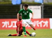 9 June 2019; Aaron Connolly of Ireland in action against Ahmed Mohamed of Bahrain during the 2019 Maurice Revello Toulon Tournament match between Bahrain and Republic of Ireland at Jules Ladoumegue stadium in Vitrolles, France.