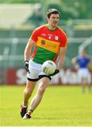 9 June 2019; Conor Lawlor of Carlow during the GAA Football All-Ireland Senior Championship Round 1 match between Carlow and Longford at Netwatch Cullen Park in Carlow. Photo by Ramsey Cardy/Sportsfile