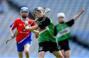10 June 2019; Killian Costello of St Mary's BNS, Lucan, in action against Belgrove Senior BNS, Clontarf, in the Corn Herald Final during the Allianz Cumann na mBunscol Finals 2019 at Croke Park in Dublin. Photo by Piaras Ó Mídheach/Sportsfile