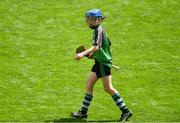 10 June 2019; Senan Bolger of St Mary's BNS, Lucan, in the Corn Herald Final against Belgrove Senior BNS, Clontarf, during the Allianz Cumann na mBunscol Finals 2019 at Croke Park in Dublin. Photo by Piaras Ó Mídheach/Sportsfile