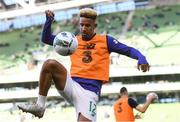 10 June 2019; Callum Robinson of Republic of Ireland prior to the UEFA EURO2020 Qualifier Group D match between Republic of Ireland and Gibraltar at Aviva Stadium, Lansdowne Road in Dublin. Photo by Stephen McCarthy/Sportsfile