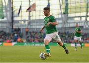10 June 2019; Seán Maguire of Republic of Ireland during the UEFA EURO2020 Qualifier Group D match between Republic of Ireland and Gibraltar at the Aviva Stadium, Lansdowne Road in Dublin. Photo by Seb Daly/Sportsfile