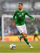 10 June 2019; Conor Hourihane of Republic of Ireland during the UEFA EURO2020 Qualifier Group D match between Republic of Ireland and Gibraltar at the Aviva Stadium, Lansdowne Road in Dublin. Photo by Seb Daly/Sportsfile