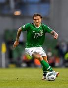 10 June 2019; Jeff Hendrick of Republic of Ireland during the UEFA EURO2020 Qualifier Group D match between Republic of Ireland and Gibraltar at the Aviva Stadium, Lansdowne Road in Dublin. Photo by Seb Daly/Sportsfile