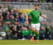 10 June 2019; Robbie Brady of Republic of Ireland during the UEFA EURO2020 Qualifier Group D match between Republic of Ireland and Gibraltar at the Aviva Stadium, Lansdowne Road in Dublin. Photo by Seb Daly/Sportsfile