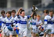 11 June 2019; David O'Connell from Scoil Mhuire BNS, Marino, Dublin celebrates after winning the Corn Herald final during the Allianz Cumann na mBunscol Finals 2019 Croke Park in Dublin. Photo by Eóin Noonan/Sportsfile