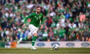 10 June 2019; Richard Keogh of Republic of Ireland during the UEFA EURO2020 Qualifier Group D match between Republic of Ireland and Gibraltar at Aviva Stadium, Lansdowne Road in Dublin. Photo by Stephen McCarthy/Sportsfile