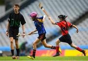 11 June 2019; Ava Shefflin of Our Ladys GNS, Ballinteer, Dublin in action against Chika Donohoe of Assumption GNS Walkinstown, Dublin during the Allianz Cumann na mBunscol Finals 2019 Croke Park in Dublin. Photo by Eóin Noonan/Sportsfile