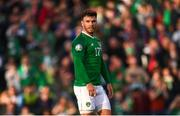 10 June 2019; Scott Hogan of Republic of Ireland during the UEFA EURO2020 Qualifier Group D match between Republic of Ireland and Gibraltar at Aviva Stadium, Lansdowne Road in Dublin. Photo by Stephen McCarthy/Sportsfile