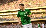 10 June 2019; Seamus Coleman of Republic of Ireland during the UEFA EURO2020 Qualifier Group D match between Republic of Ireland and Gibraltar at Aviva Stadium, Lansdowne Road in Dublin. Photo by Stephen McCarthy/Sportsfile