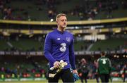 10 June 2019; James Talbot of Republic of Ireland during the UEFA EURO2020 Qualifier Group D match between Republic of Ireland and Gibraltar at Aviva Stadium, Lansdowne Road in Dublin. Photo by Stephen McCarthy/Sportsfile