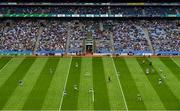 9 June 2019; A general view of the action during the Leinster GAA Football Senior Championship Semi-Final match between Meath and Laois at Croke Park in Dublin. Photo by Stephen McCarthy/Sportsfile