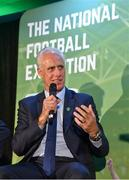 11 June 2019; Republic of Ireland manager Mick McCarthy at the launch of the FAI National Football Exhibition at UL Sports Arena, University of Limerick. Photo by Diarmuid Greene/Sportsfile