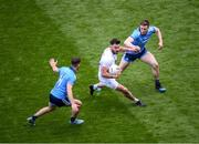 9 June 2019; Fergal Conway of Kildare in action against Cormac Costello, left, and John Small, right, of Dublin during the Leinster GAA Football Senior Championship semi-final match between Dublin and Kildare at Croke Park in Dublin. Photo by Stephen McCarthy/Sportsfile
