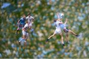 9 June 2019; (EDITORS NOTE: Image created using the multiple exposure function in camera) A general view of the action during the Leinster GAA Football Senior Championship semi-final match between Dublin and Kildare at Croke Park in Dublin. Photo by Stephen McCarthy/Sportsfile