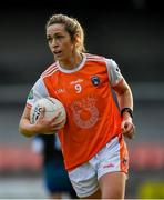 9 June 2019; Caroline O'Hanlon of Armagh during the TG4 Ulster Ladies Senior Football Championship Semi-Final match between Armagh and Monaghan at Pairc Esler in Newry, Down. Photo by David Fitzgerald/Sportsfile