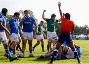 12 June 2019; Michael Milne of Ireland scores a try during the World Rugby U20 Championship Pool B match between Ireland and Italy at Club De Rugby Ateneo Inmaculada, Santa Fe in Argentina. Photo by Florencia Tan Jun/Sportsfile