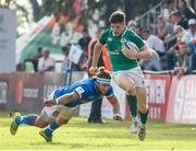 12 June 2019; Rob Russell of Ireland runs with the ball during the World Rugby U20 Championship Pool B match between Ireland and Italy at Club De Rugby Ateneo Inmaculada, Santa Fe in Argentina. Photo by Florencia Tan Jun/Sportsfile