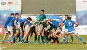 12 June 2019; Azur Allison of Ireland in the maul during the World Rugby U20 Championship Pool B match between Ireland and Italy at Club De Rugby Ateneo Inmaculada, Santa Fe in Argentina. Photo by Florencia Tan Jun/Sportsfile