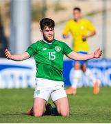 12 June 2019; Aaron Connolly of Republic of Ireland reacts during the 2019 Maurice Revello Toulon Tournament Semi-Final match between  Brazil and Republic of Ireland at Stade De Lattre in Aubagne, France. Photo by Alexandre Dimou/Sportsfile