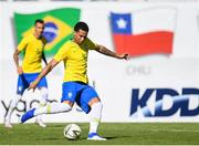 12 June 2019; Murilo Cerqueira of Brazil in action during the 2019 Maurice Revello Toulon Tournament Semi-Final match between  Brazil and Republic of Ireland at Stade De Lattre in Aubagne, France. Photo by Alexandre Dimou/Sportsfile