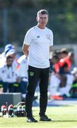 12 June 2019; Stephen Kenny head coach of Ireland during the 2019 Maurice Revello Toulon Tournament Semi-Final match between Brazil and Republic of Ireland at Stade De Lattre in Aubagne, France. Photo by Alexandre Dimou