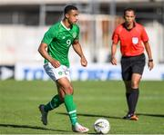 12 June 2019; Adam Idah of Ireland in action during the 2019 Maurice Revello Toulon Tournament Semi-Final match between Brazil and Republic of Ireland at Stade De Lattre in Aubagne, France. Photo by Alexandre Dimou