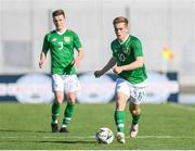 12 June 2019; Connor Ronan of Ireland in action during the 2019 Maurice Revello Toulon Tournament Semi-Final match between Brazil and Republic of Ireland at Stade De Lattre in Aubagne, France. Photo by Alexandre Dimou