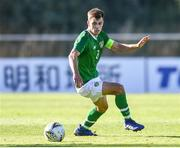 12 June 2019; Jayson Molumby captain of Ireland in action during the 2019 Maurice Revello Toulon Tournament Semi-Final match between Brazil and Republic of Ireland at Stade De Lattre in Aubagne, France. Photo by Alexandre Dimou