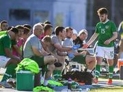 12 June 2019; Aaron Connolly of Ireland looks dejected after being subbed during the 2019 Maurice Revello Toulon Tournament Semi-Final match between  Brazil and Republic of Ireland at Stade De Lattre in Aubagne, France. Photo by Alexandre Dimou