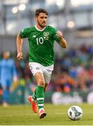 10 June 2019; Robbie Brady of Republic of Ireland during the UEFA EURO2020 Qualifier Group D match between Republic of Ireland and Gibraltar at the Aviva Stadium, Lansdowne Road in Dublin. Photo by Harry Murphy/Sportsfile
