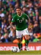 10 June 2019; Jeff Hendrick of Republic of Ireland during the UEFA EURO2020 Qualifier Group D match between Republic of Ireland and Gibraltar at the Aviva Stadium, Lansdowne Road in Dublin. Photo by Harry Murphy/Sportsfile