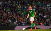 10 June 2019; Shane Duffy of Republic of Ireland during the UEFA EURO2020 Qualifier Group D match between Republic of Ireland and Gibraltar at the Aviva Stadium, Lansdowne Road in Dublin. Photo by Harry Murphy/Sportsfile