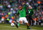10 June 2019; David McGoldrick of Republic of Ireland during the UEFA EURO2020 Qualifier Group D match between Republic of Ireland and Gibraltar at the Aviva Stadium, Lansdowne Road in Dublin. Photo by Harry Murphy/Sportsfile