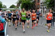 12 June 2019; Competitors at the start of the Grant Thornton Corporate 5K Team Challenge, Cork City, The South Mall in Cork City. Photo by Piaras Ó Mídheach/Sportsfile