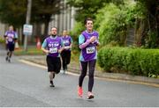12 June 2019; Aisling Holland of Otter Products EMEA during the Grant Thornton Corporate 5K Team Challenge, Cork City, The South Mall in Cork City. Photo by Piaras Ó Mídheach/Sportsfile