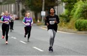 12 June 2019; Blessing Usoro of Smarttech247 - Getvisibility during the Grant Thornton Corporate 5K Team Challenge, Cork City, The South Mall in Cork City. Photo by Piaras Ó Mídheach/Sportsfile