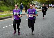 12 June 2019; Margaret Noonan, left, and Annette Sweetnam, both of Grant Thornton during the Grant Thornton Corporate 5K Team Challenge, Cork City, The South Mall in Cork City. Photo by Piaras Ó Mídheach/Sportsfile