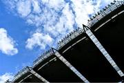9 June 2019; A general view of the Cusack Stand roof before the Leinster GAA Football Senior Championship Semi-Final match between Meath and Laois at Croke Park in Dublin. Photo by Piaras Ó Mídheach/Sportsfile