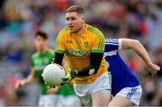 9 June 2019; Andrew Colgan of Meath in action against Paul Kingston of Laois during the Leinster GAA Football Senior Championship Semi-Final match between Meath and Laois at Croke Park in Dublin. Photo by Piaras Ó Mídheach/Sportsfile