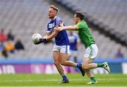 9 June 2019; Damien O'Connor of Laois in action against Bryan McMahon of Meath during the Leinster GAA Football Senior Championship Semi-Final match between Meath and Laois at Croke Park in Dublin. Photo by Piaras Ó Mídheach/Sportsfile