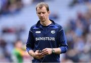 9 June 2019; Laois manager John Sugrue leaves the field after the Leinster GAA Football Senior Championship Semi-Final match between Meath and Laois at Croke Park in Dublin. Photo by Piaras Ó Mídheach/Sportsfile