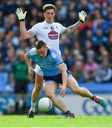 9 June 2019; Con O'Callaghan of Dublin in action against David Slattery of Kildare during the Leinster GAA Football Senior Championship Semi-Final match between Dublin and Kildare at Croke Park in Dublin. Photo by Piaras Ó Mídheach/Sportsfile