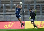 9 June 2019; Dublin goalkeepers Michael Shiel and Stephen Cluxton, right, warm-up before the Leinster GAA Football Senior Championship Semi-Final match between Dublin and Kildare at Croke Park in Dublin. Photo by Piaras Ó Mídheach/Sportsfile