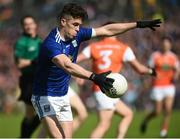 9 June 2019; Dara McVeety of Cavan during the Ulster GAA Football Senior Championship Semi-Final Replay match between Cavan and Armagh at St Tiarnach's Park in Clones, Monaghan. Photo by Oliver McVeigh/Sportsfile